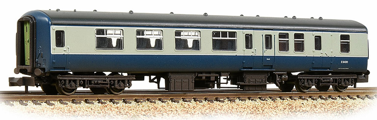 BR Mk2A BSO Brake Second Open BR Blue & Grey Weathered