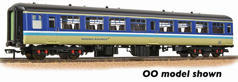 BR Mk2A TSO Tourist Second Open BR Regional Railways