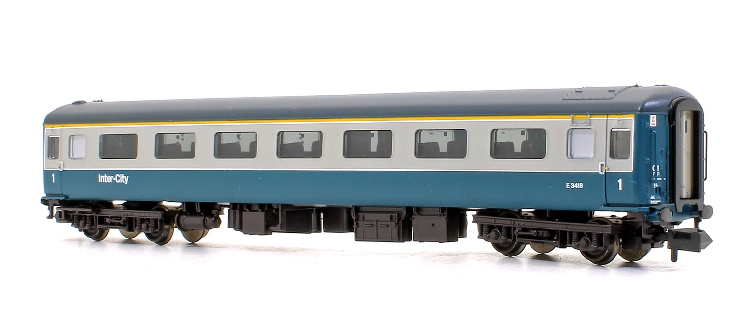 BR MK2F FO First Open Blue & Grey Intercity Coach
