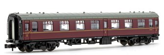BR Maroon Mk1 FO First Open Passenger Coach M3147