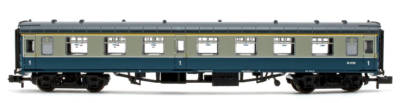 BR Blue/Grey Mk1 FO First Open Passenger Coach M3116