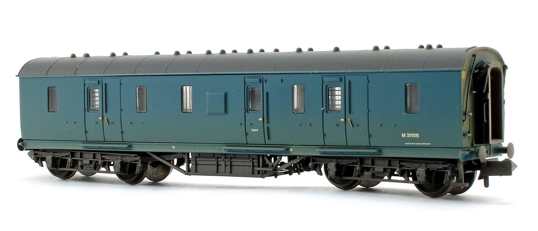 50ft Ex-LMS Parcels Van BR Blue - Weathered