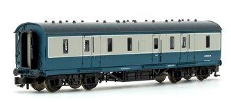 BR Blue/Grey 50ft ex-LMS Full Brake Coach M31080M