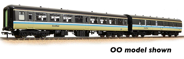 BR Mk2 TSO & Mk1 BG 2-Coach Pack BR ScotRail