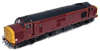 Class 37/4 EWS Royal Scotsman Maroon Unnumbered Diesel Locomotive