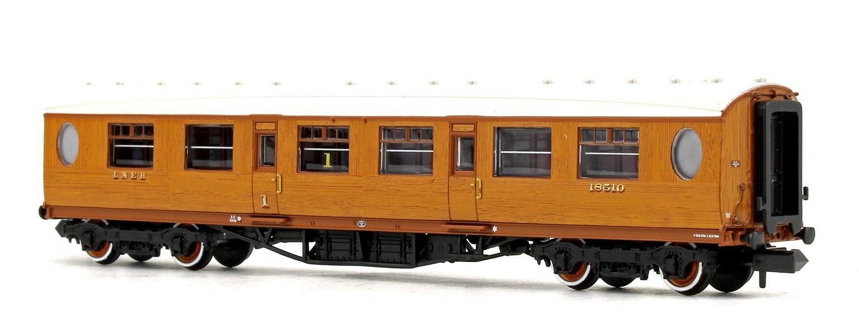 LNER Thompson Composite Corridor LNER Teak Effect No.18510