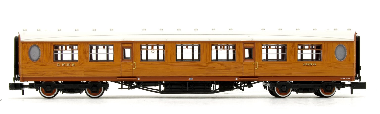 LNER Thompson Third Corridor LNER Teak Effect No.1090