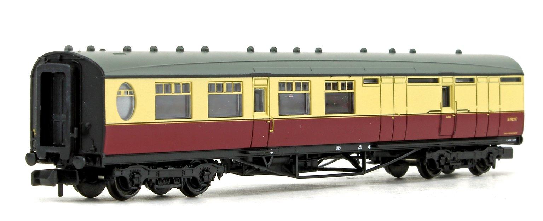 LNER Thompson Brake Third Corridor BR Crimson & Cream No.E1922E