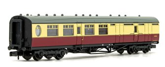 LNER Thompson Brake Third Corridor BR Crimson & Cream No.E1922E