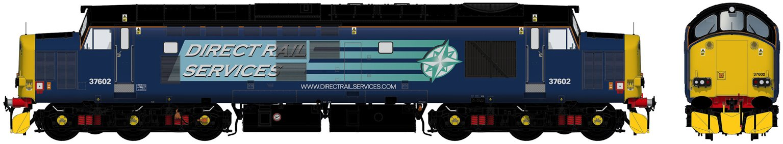 Class 37/6 37602 DRS Compass Diesel Locomotive