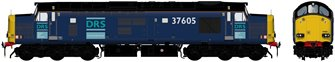 Class 37/6 37605 Original DRS Livery Diesel Locomotive DCC Sound