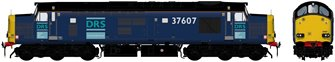 Class 37/6 37607 Original DRS Livery Diesel Locomotive DCC Sound