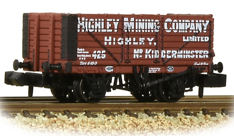 7 Plank Wagon End Door 'Highley Mining Company Ltd.' Red