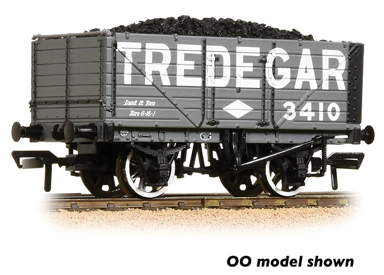 7 Plank Wagon End Door 'Tredegar' Grey with Wagon Load