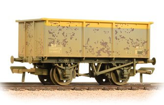 27 Ton ZKV Steel Tippler Wagon BR Grey & Yellow Weathered