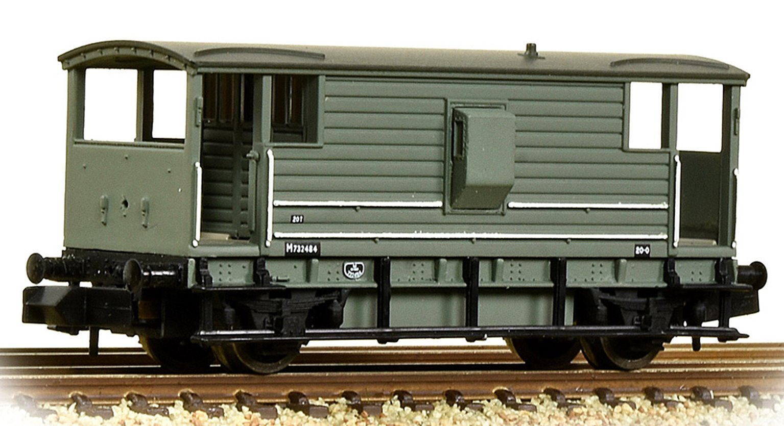 LMS 20T Brake Van BR Grey (Early)