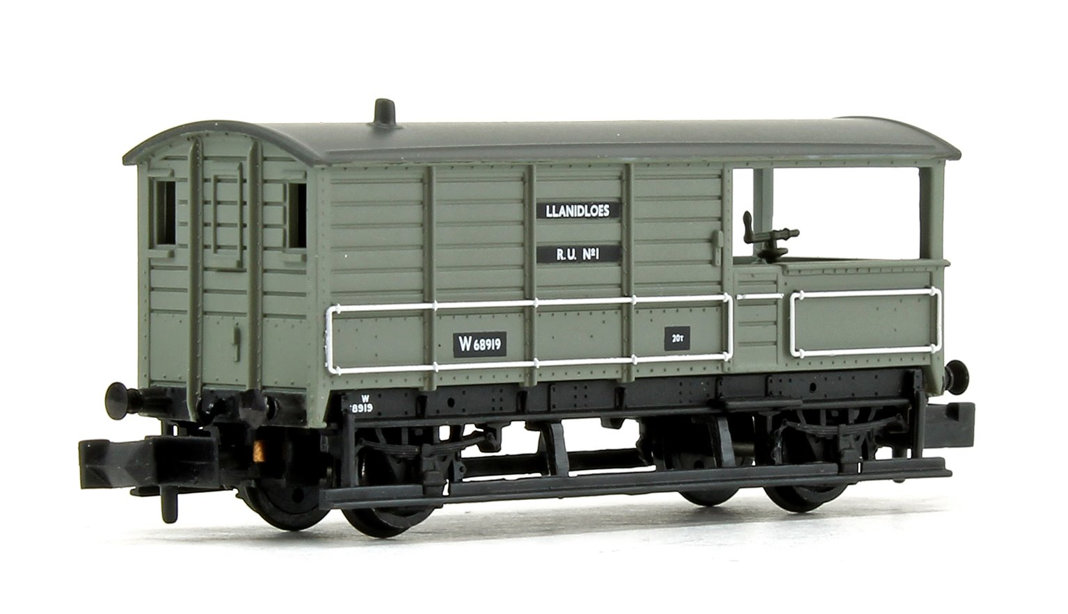 GWR 20T 'Toad' Brake Van BR Grey (Early)