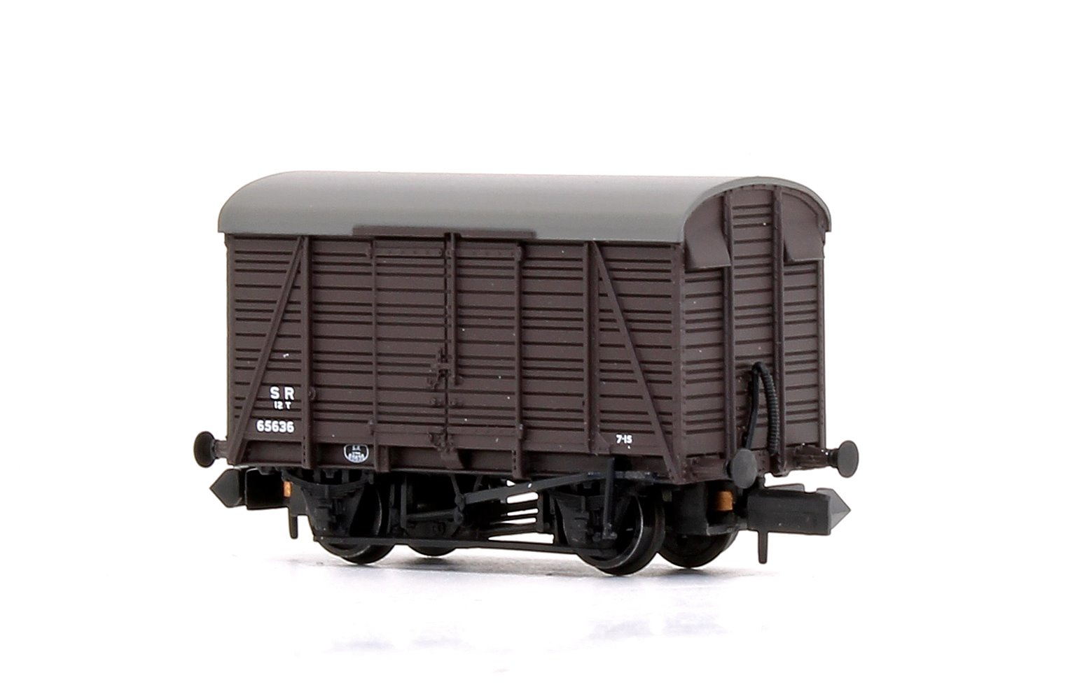 12 Ton Southern 2+2 Planked Ventilated Van SR Brown