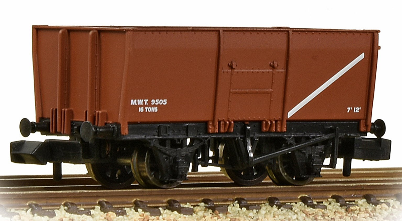 16T Steel Slope-Sided Mineral Wagon MOT Bauxite