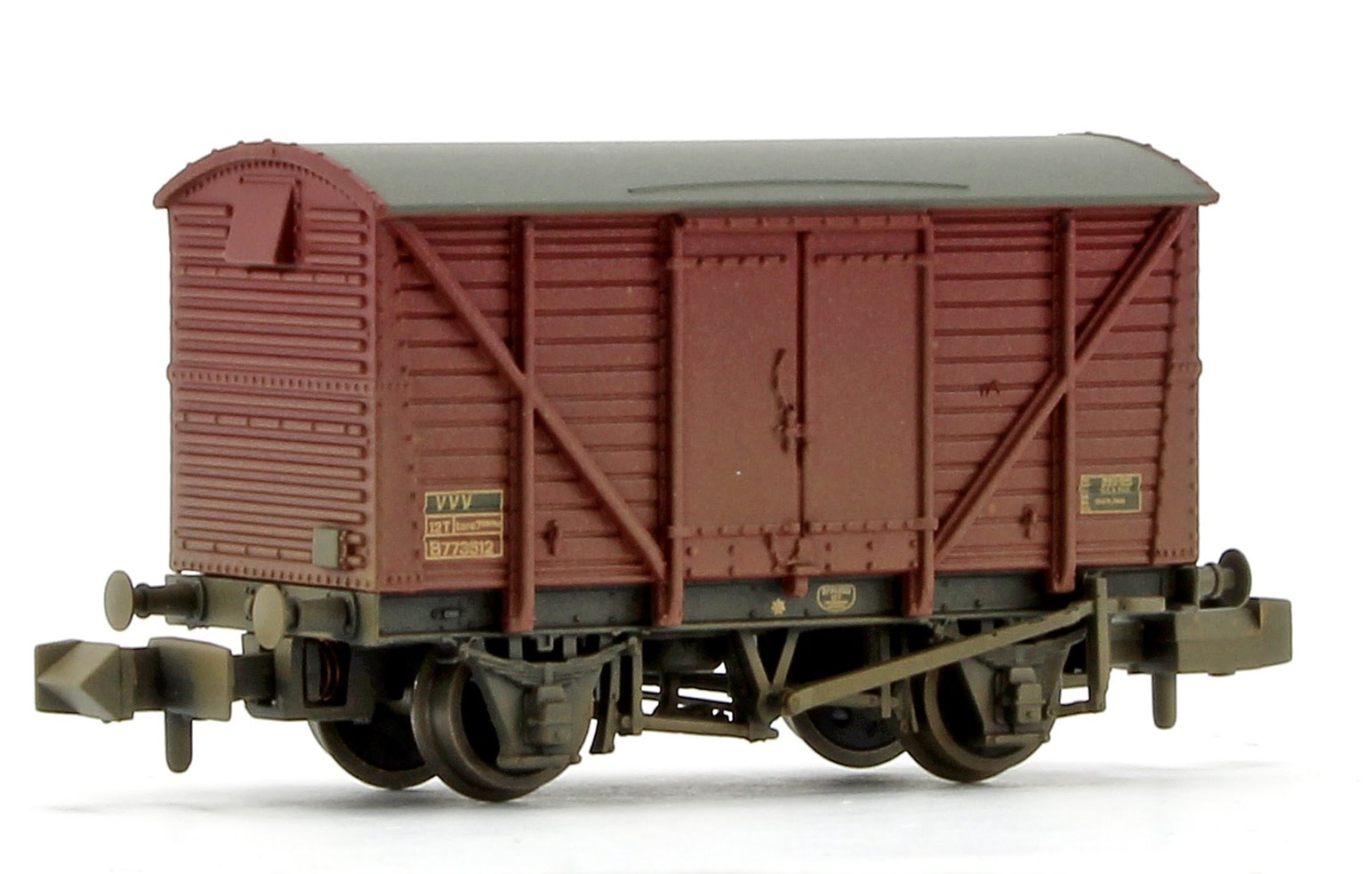 12 Ton BR Ventilated Van Plywood Doors BR Bauxite (Late) Weathered