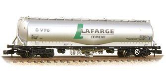 100 Tonne JPA Cement Wagon VTG 'Lafarge Cement' Silver(Price is estimated - we will notify you if price rises and offer option to cancel)