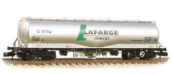 100 Tonne JPA Cement Wagon VTG 'Lafarge Cement' Silver