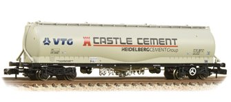 100 Tonne JPA Cement Wagon VTG 'Castle Cement' Grey