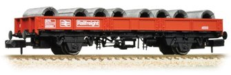 SPA Wagon BR Railfreight Red with Steel Coils