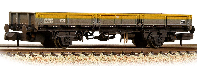 BR ZAA 'Pike' Open Wagon BR Engineers Grey & Yellow Weathered