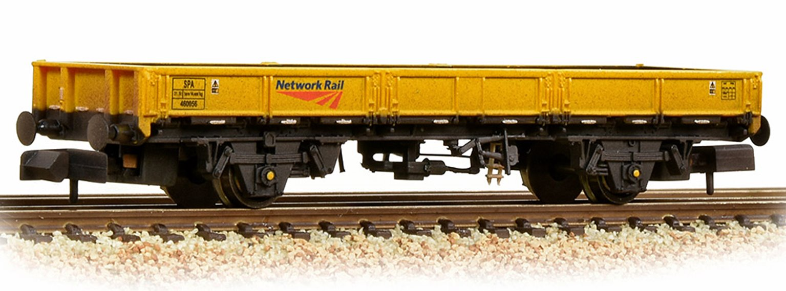 BR SPA Open Wagon Network Rail Yellow Weathered