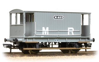 Midland 20 Ton Brake Van MR Grey