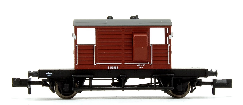 BR Bauxite (Early) SR 25T 'Pill Box' Brake Van