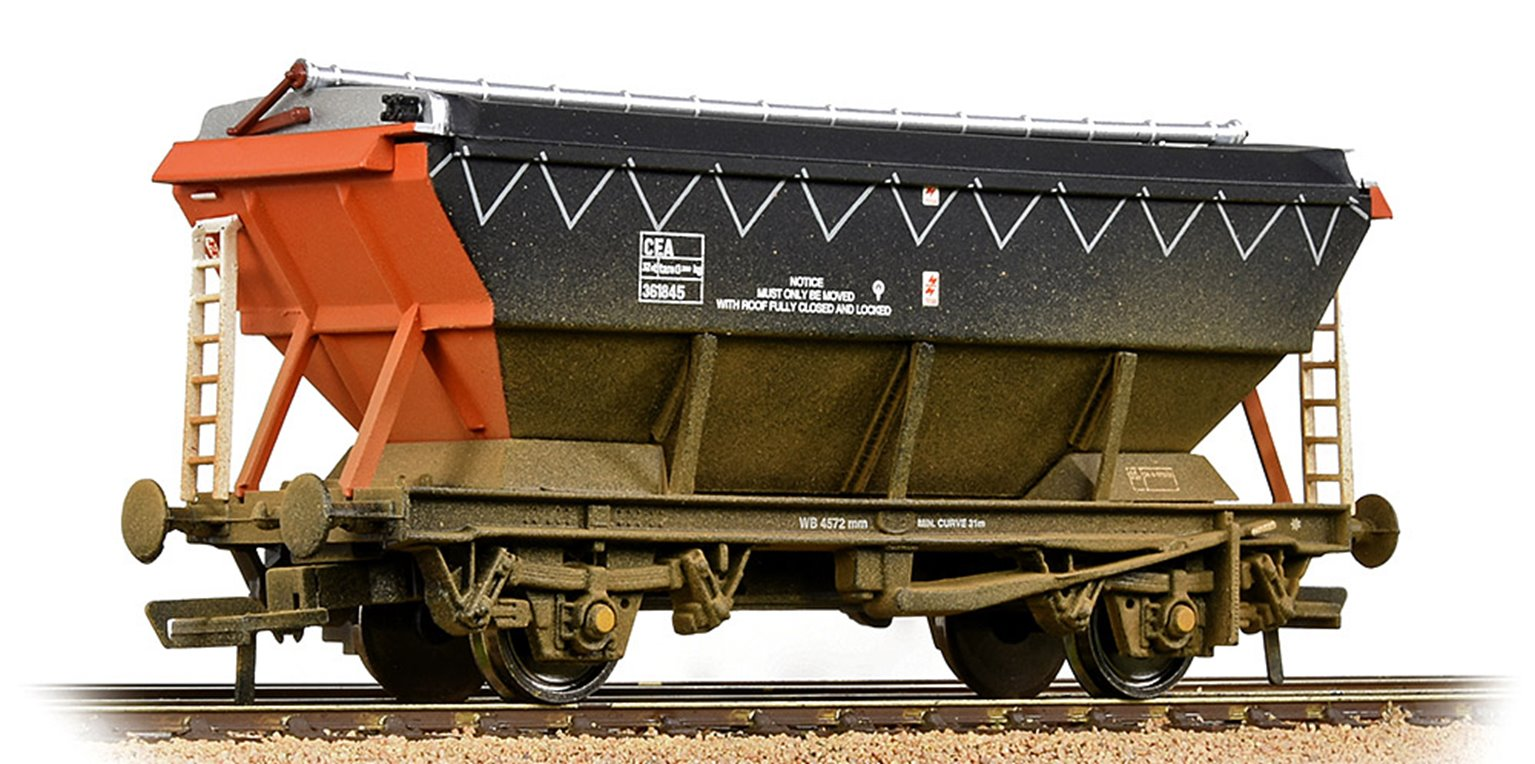 CEA Covered Hopper Loadhaul - Weathered