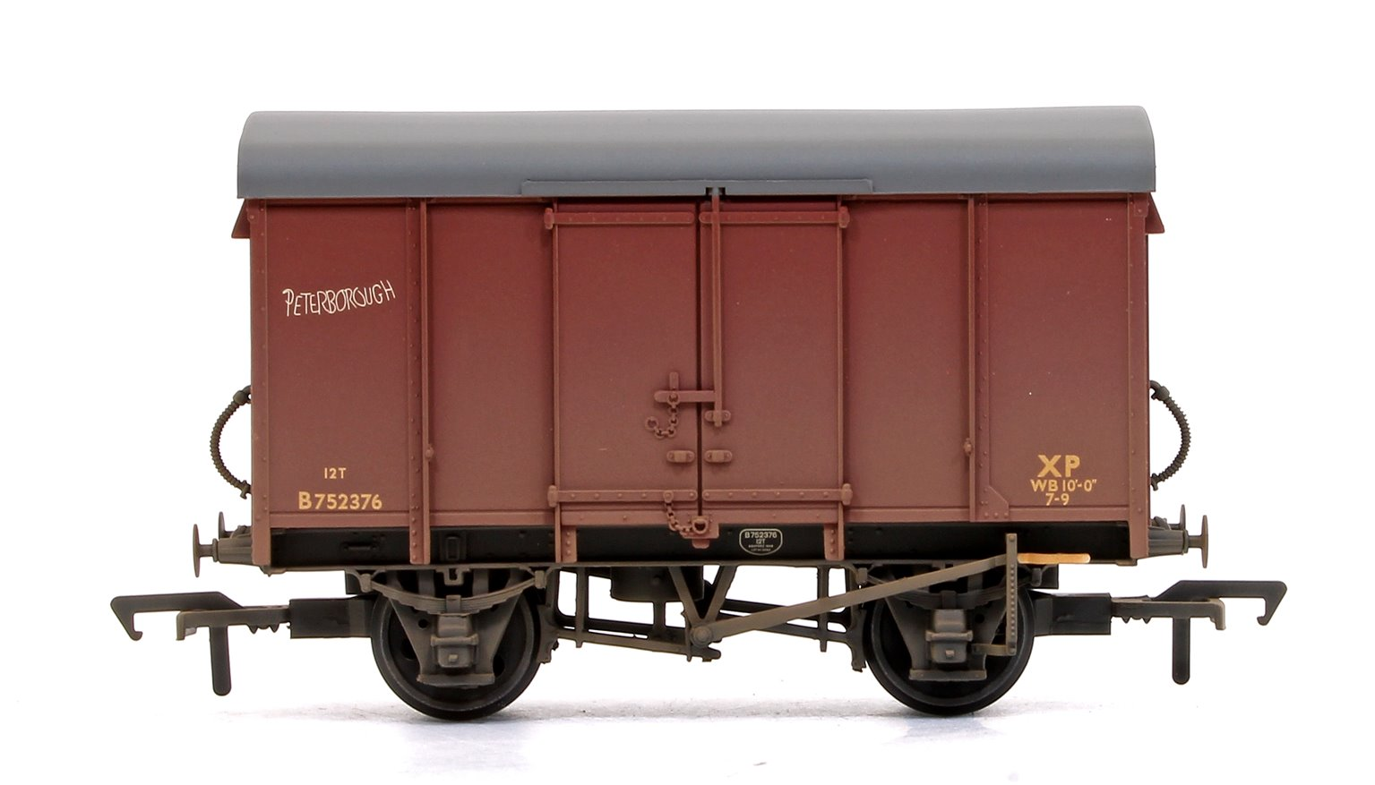 SR 12T Plywood Ventilated Van BR Bauxite (Late) - Weathered