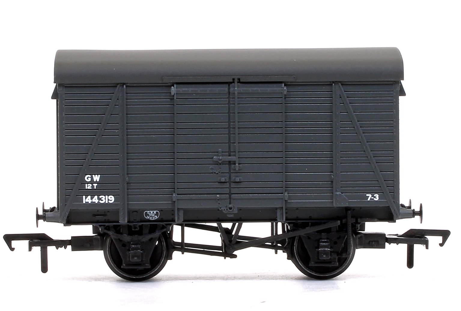 12 Ton Southern 2+2 Planked Ventilated Van GWR Grey