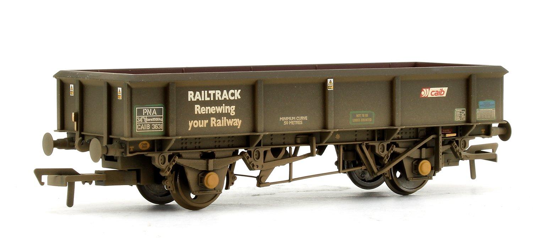 Triple Pack 34 Tonne PNA Railtrack 5 Rib Wagons (Weathered)