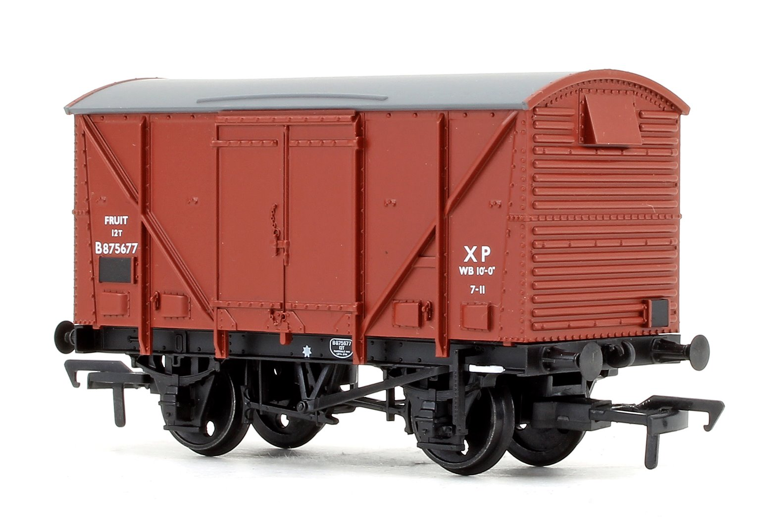 BR 12 Ton Vent. Plywood Fruit Van BR Bauxite (Early)