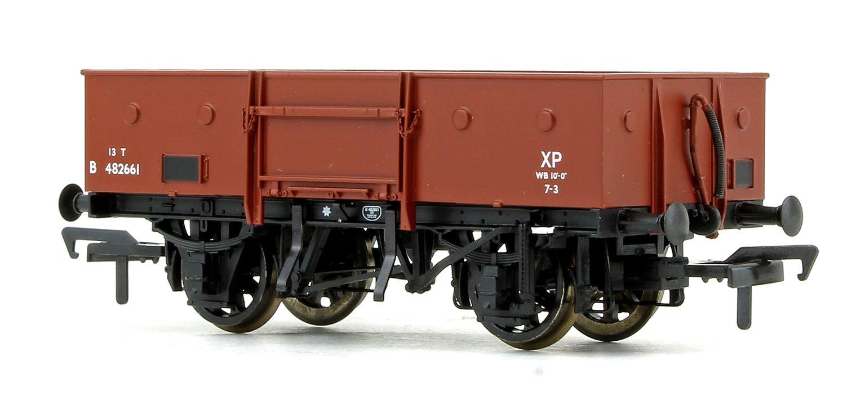 LNER 13T Steel Open Wagon (Chain Pockets) BR Bauxite (Early)