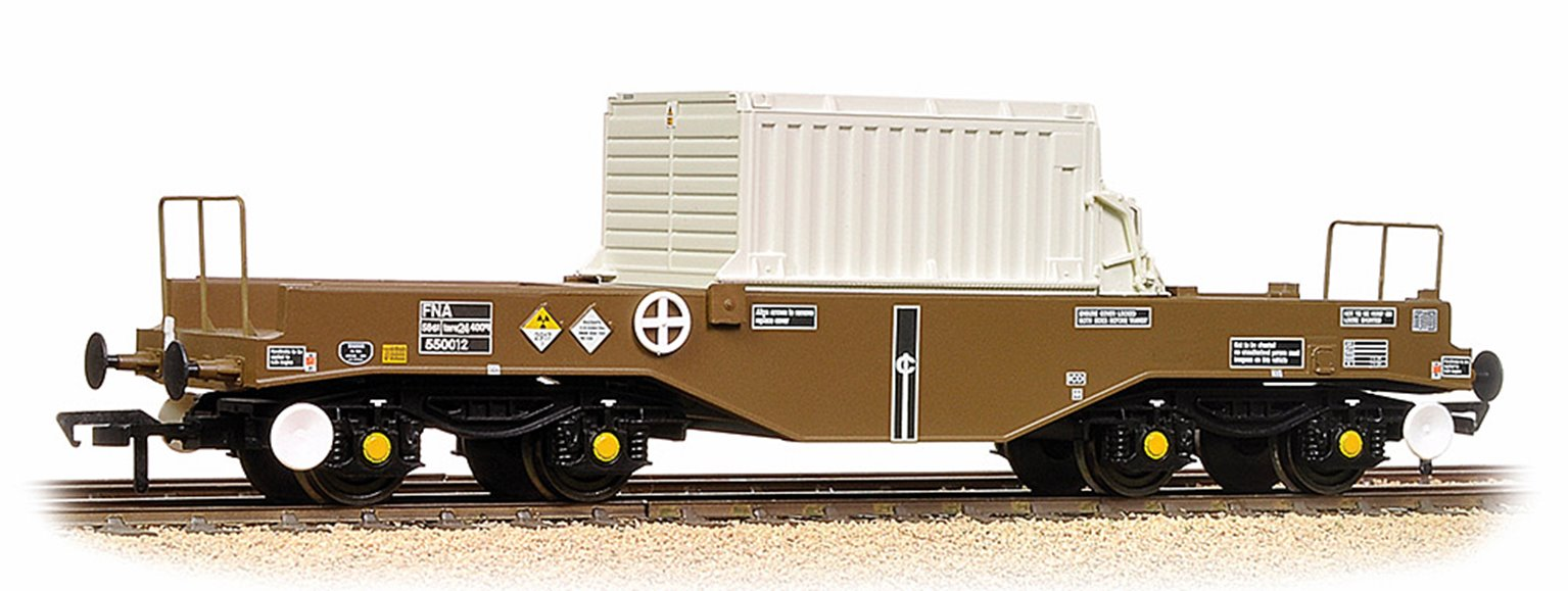 BR FNA Nuclear Flask Wagon Flat Floor With Flask