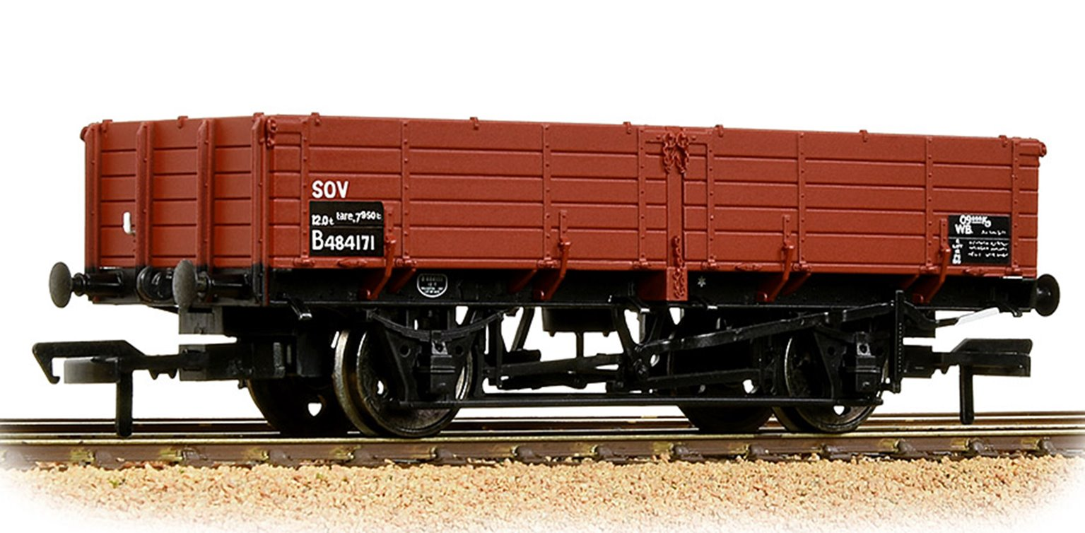 BR 12T Pipe Wagon BR Bauxite (TOPS)