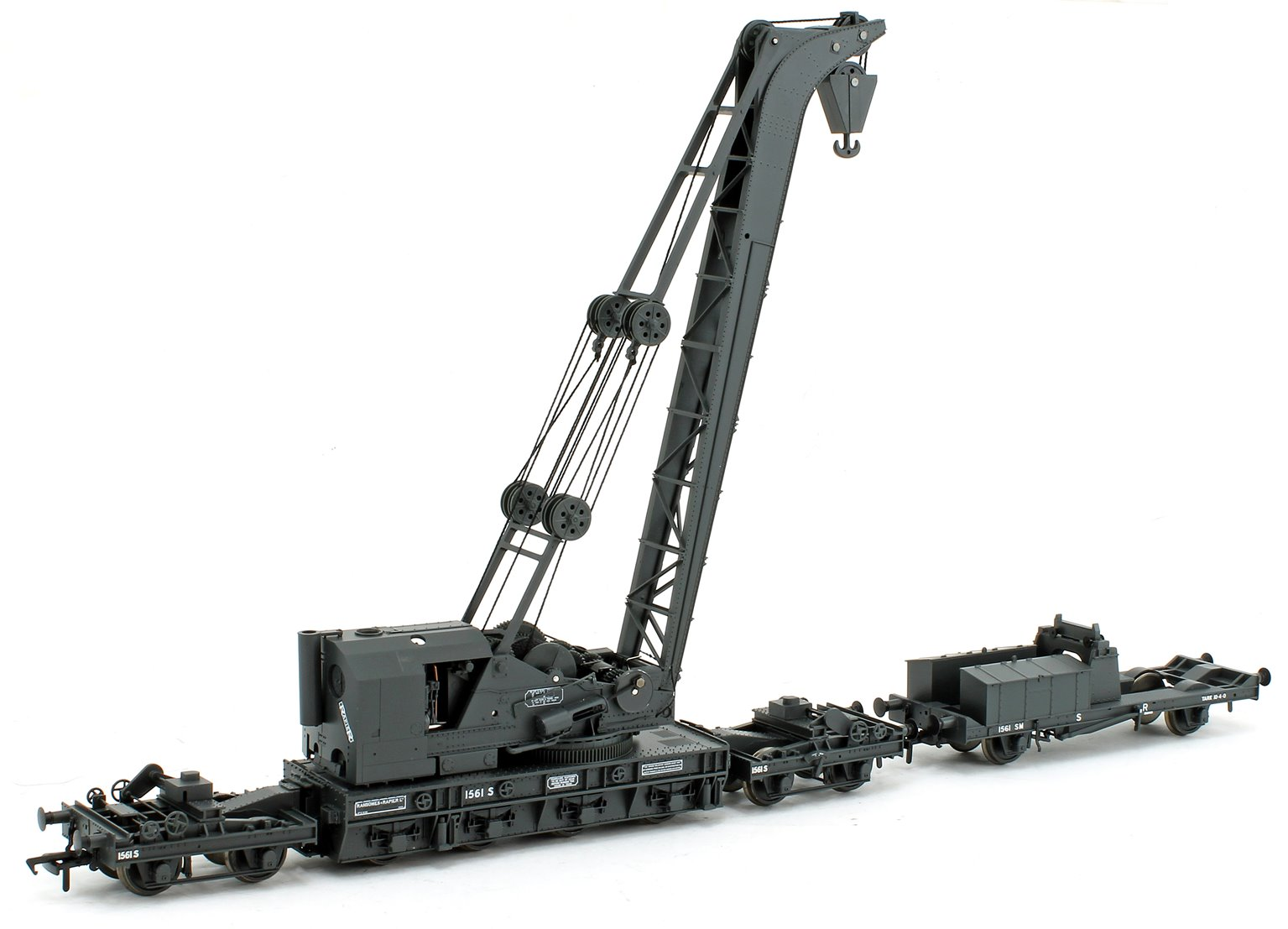 Ransomes & Rapier 45T Steam Breakdown Crane SR Grey 1561 S