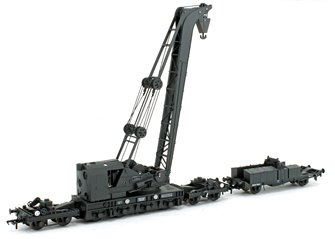 Ransomes & Rapier 45T Steam Breakdown Crane GWR Grey No.16