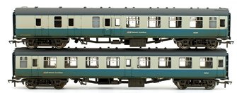 MK1 Coach Pack BR Blue & Grey with NSE Branding (Weathered Edition)