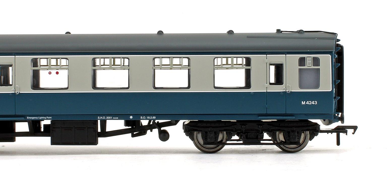 BR Mk1 SO Second Open BR Blue & Grey Passenger Coach No.M4243