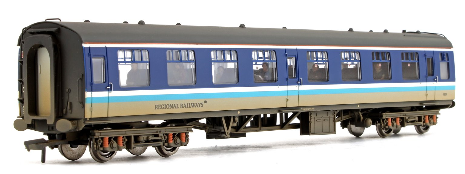BR MK1 TSO Tourist Second Open Regional Railways Passenger Coach No.4854 (Weathered)