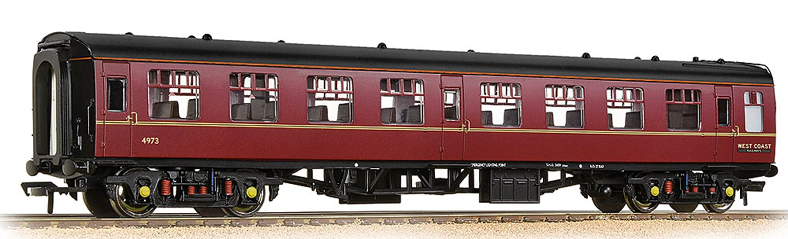 BR Mk1 TSO Tourist Second Open WCRC Maroon