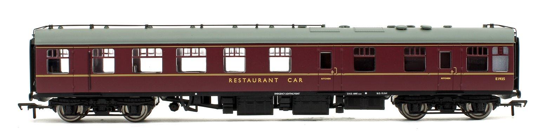 BR Mk1 RU Restaurant Car BR Maroon Passenger Coach No.E1925