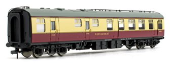 BR MK1 RU Restaurant Car Crimson & Cream Passenger Coach No.W1900