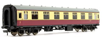 BR MK1 FK First Corridor Crimson/Cream Passenger Coach E13113