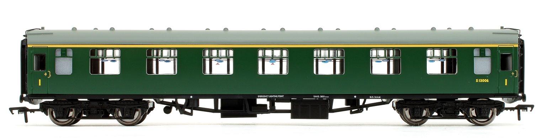 BR Mk1 FK First Corridor (SR) Green Passenger Coach S13006